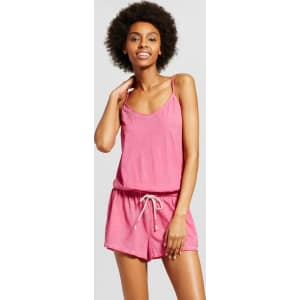 e72620d200e3 Women s Sleep Romper - Xhilaration Paradise Pink M from Target.