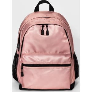 Women s Multi-Compartment Dome Backpack - Mossimo Supply Co. Blush ... 5083903cba5b5
