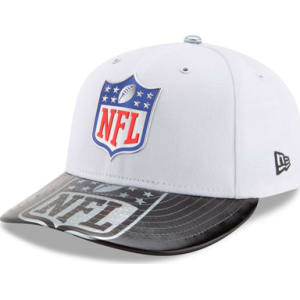 Men s New Era White 2017 Nfl Draft on Stage Low Profile 59fifty Fitted Hat 69b38ae1446