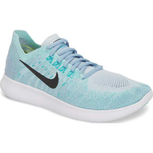 super popular 6c0c7 851ff Women s Nike Free Run Flyknit 2 Running Shoe, Size 6 M - Blue from ...
