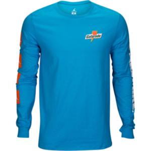 1191add941db Jordan Jsw Like Mike Long Sleeve T-Shirt - Mens - Blue Lagoon from ...