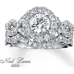 Neil Lane Bridal Set 2 Ct Tw Diamonds 14k White Gold