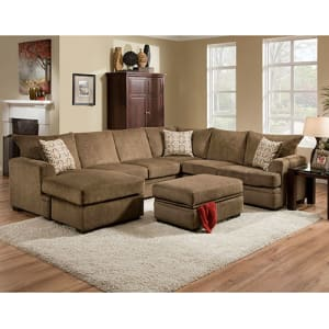 Captivating Springfield Sectional   Right Sofa