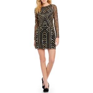 69ef06587c Gianni Bini Kim Geometric Sequin Dress from Dillard s.