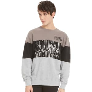 6818a9909 Panic At The Disco Color Blocked Sweatshirt from Hot Topic.