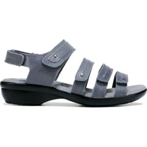 a0fe1b96ecac Propet Women s Aurora Narrow Medium Wide Sandals (Denim Leather ...