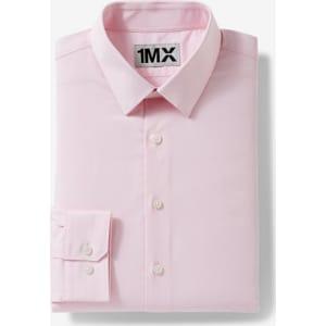 24c9e1d80d6 Express Mens Slim Easy Care Textured 1Mx Shirt from Express Men.