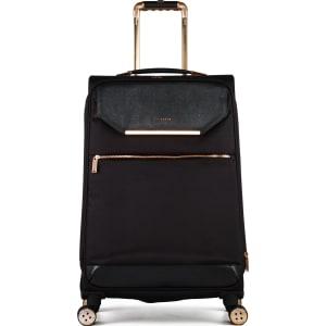 58c0c3f2e Ted Baker Ladies Albany Black 4 Wheel Soft Medium Suitcase