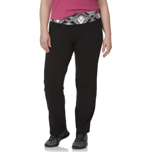 d002510eece Plus Size Everlasta(r) Women s Plus Bootcut Yoga Pants - Geometric ...