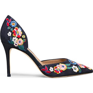 2ac9fe1b8499fc Tory Burch Rosemont Embroidered D Orsay Pump from Tory Burch .