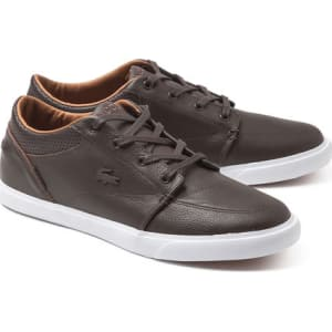963b639e24 Lacoste Men's Bayliss Vulc Prm Shoes - Brown from Lacoste.