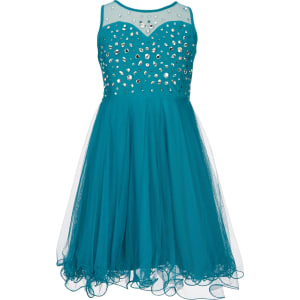 06f81d823ea Tween Diva Big Girls 7-16 Beaded Mesh Dress from Dillard s.