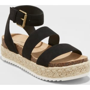 f17e67b3b Women's Agnes Wide Width Espadrille Sandals - Universal Thread Black ...