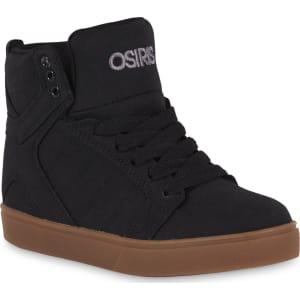 a0e705c5f7 Osiris Boys' Skyrise Black High-Top Fashion Sneaker, Size: 4 ...