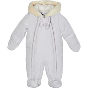 c5007aa11a91 J by Jasper Conran Baby Girls  Light Pink Padded Snowsuit from ...
