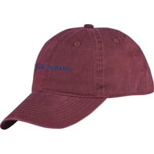 61048096de9 Womens Champion Twill Mesh Dad Cap - Maroon from Champs Sports.