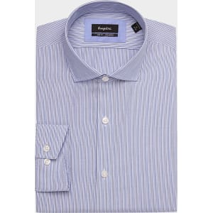 93e2d37c9a Esquire Light Blue Stripe Slim Fit Dress Shirt from Men's Wearhouse.