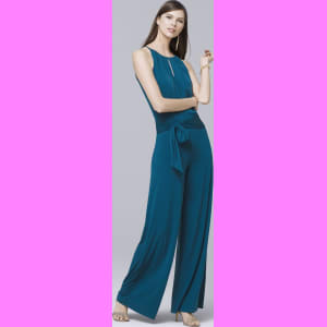 5f49944e615f Women s Wide-Leg Keyhole Jumpsuit by White House Black Market from ...