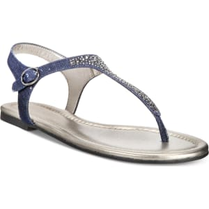 14f884892 Bandolino Kyrie Embellished Flat Sandals Women s Shoes from Macy s.