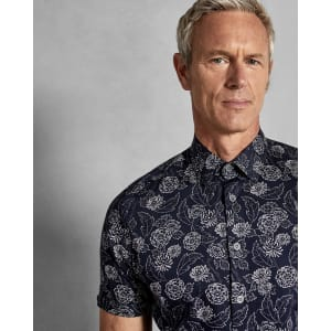 0fc5443ef0236 Floral Print Cotton Shirt from Ted Baker.