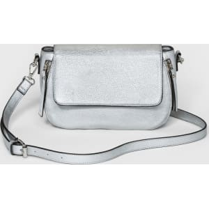 8fe1266eae Women's Magnetic Closure Cross Body Bag - A New Day Silver from Target.