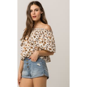 53be9781d4363b Amuse Society in Your Dreams Off the Shoulder Top from Tilly s .