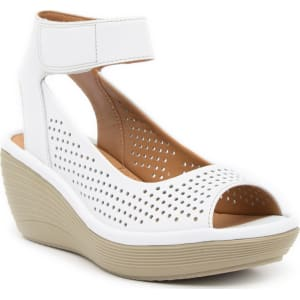 be193b22bce Reedly Salene Leather Wedge Sandal from Nordstrom Rack.
