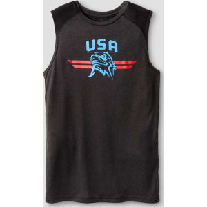 bd7562308dfb Boys  Sleeveless Graphic Tech T-Shirt - C9 Champion - Black Xl - Usa ...