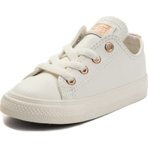 eaf697cb5fbf Infant Toddler Converse Chuck Taylor All Star Lo Leather Sneaker ...