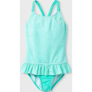 adac15f22 Plus Size Girls' Seersucker One Piece Swimsuit - Cat & Jack Mint M ...