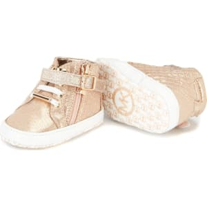 entire collection multiple colors 50% off Michael Michael Kors Girls' Baby Rio Hightop Sneaker Crib Shoes