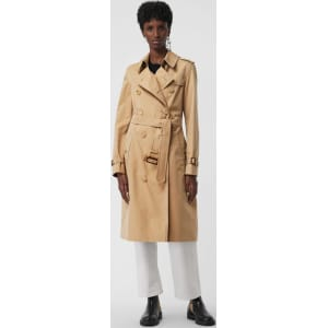 Burberry The Long Kensington Heritage Trench Coat, Size  08, Beige from  Burberry. 8dcd5832a4e