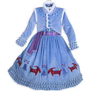 Anna Deluxe Costume for Kids - Olaf's Frozen Adventure from Disney