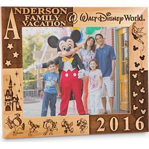 walt disney world 2017 frame by arribas 8 x 10 personalizable - Disney World Picture Frames
