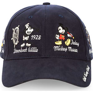 Mickey Mouse Through the Years Baseball Cap for Adults from Disney ... 85dc17977a1