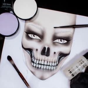 Create Your Own Halloween Skull