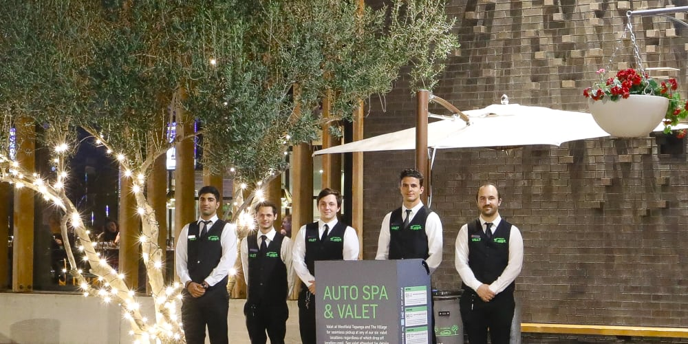 Valet Parking and Car Wash