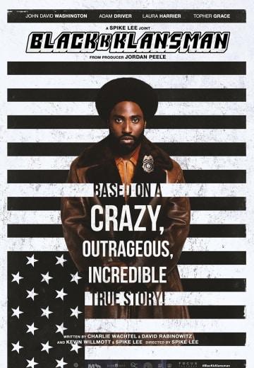 Image result for blackkklansman movie poster