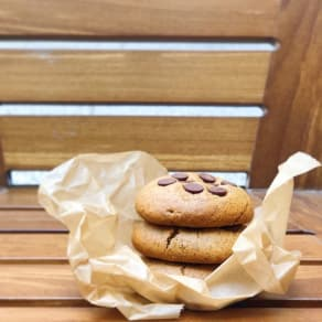 Free Beaming Protein Chocolate Chip Cookie