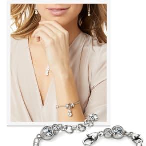 Free INFINITY SPARKLE Slide Bracelet