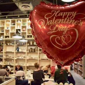 Valentine's Day at Bitter Root Pottery