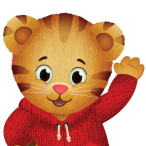 Daniel Tiger visits Learning Express for Story Time!