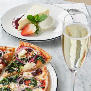3 courses and a complimentary glass of Prosecco for £17.95*