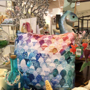 Mermaid Decorated Pillow Class