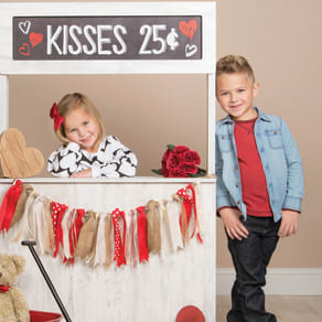 Kissing Booth Photography Event