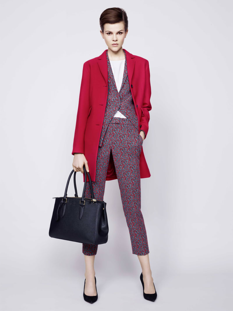 Blazer, £275 and trousers, £165&#x3b; Jaeger
