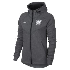 37776db45d13 England Tech Fleece Women  039 s Full-Zip Hoodie - Grey. Nike