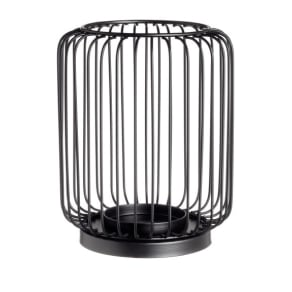 H & M - Metal candle lantern - Black
