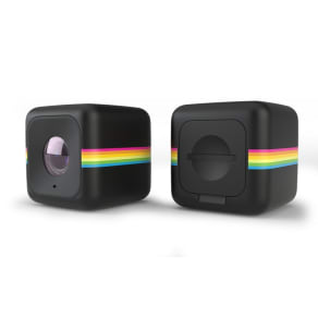 Polaroid - Black Cube Life Action Camera Plus Wi-Fi