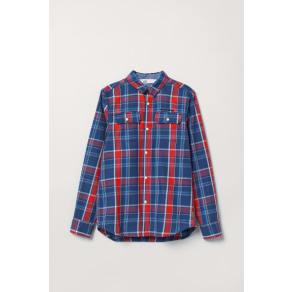 H & M - Cotton shirt - Red